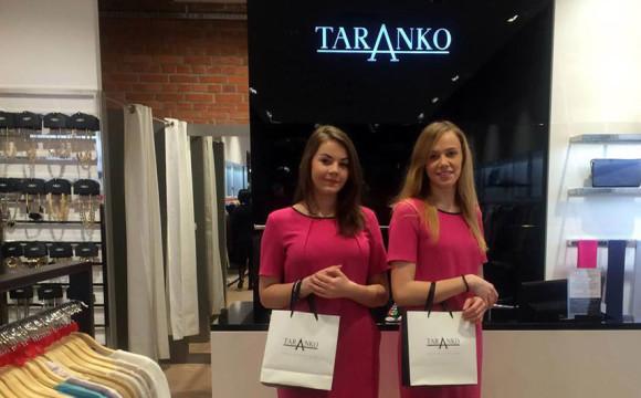 4ae4f22b0f Hostessy podczas promocji sklepu Taranko w Poznaniu